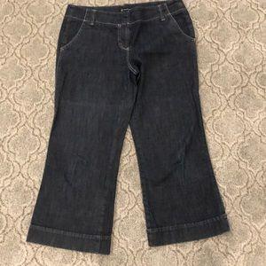 INC wide legged denim pants size 12.